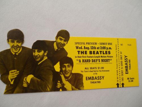 THE BEATLES Original 1964 Hard Day