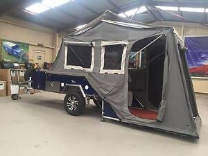 USED  Rear fold Apache Eagle off road  Camper Para Hills West Salisbury Area Preview
