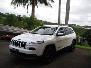 2015 JEEP CHEROKEE BLACKHAWK : WHITE Banora Point Tweed Heads Area Preview