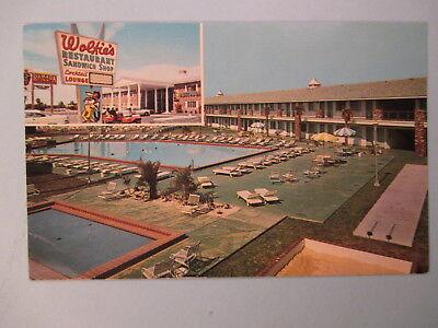 Wolfies Restaurant And Ramada Inn Cocoa Beach Fl  Postcard 4B33