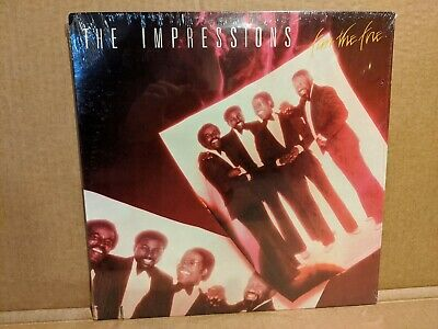 """Impressions """"Fan The Flame"""" Sealed LP*"""