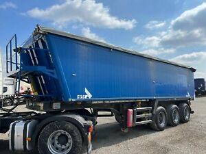 Stas 36 m3 KIPPER   LIFTED AXLE   ELECTRIC ROOF