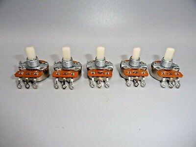 Linear Taper 1k Ohm Potentiometer 14 Shaft  Lot Of 5