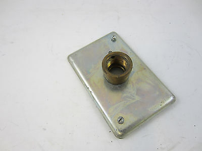 """HUBBELL KILLARK FSCC-1 FSC1 1//2/"""" FLUSH SWITCH FITTING FS BOX 18 CU IN"""