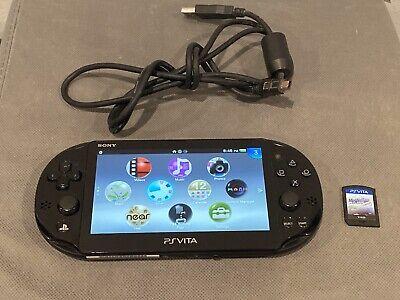 Sony Playstation PSP Vita PCH-2001 Slim WIFI w/ Game Great Condition