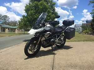 BMW R1200 GS Mount Nathan Gold Coast West Preview