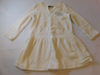 Off White Girls Dress Shoes (The Children's Place Girls Baby Dress Off White Velour Hearts Size Variation)