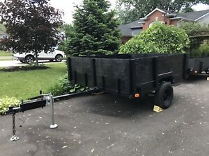 Good sized heavy duty utility trailer