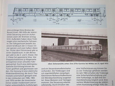 Bahn Lokaufrisse DE & Diesel ET 38 DRG ET 167 S Bahn Berlin 1937