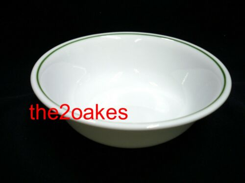 5 Corelle HOLLY DAYS Cereal Soup Bowls Christmas Green Ring Wildflower Meadow