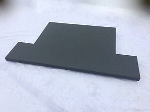 Bespoke Welsh SLATE Hearth / Fireplace Cut and polished to your requirements,