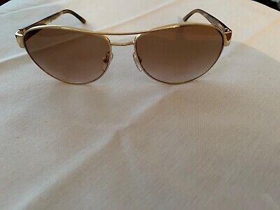 Versace Gold Frame Aviator Gradient Lens Sunglasses MOD.2145 1002/13 58mm