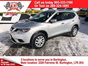 2015 Nissan Rogue Back Up Camera, Bluetooth, AWD, 32, 000km