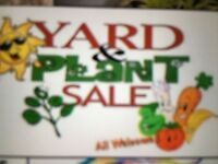 Yard and plant sale