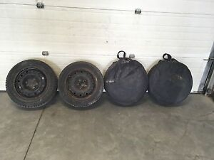 Set of good year winter tires