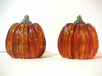 - FALL THANKSGIVING DECOR MINI PUMPKIN SET OF 2 TABLE TOP