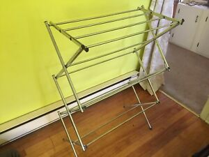 SOLD PPU Foldable clothes drying rack