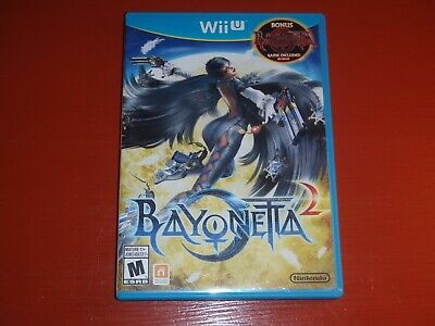 Bayonetta 2 (Nintendo Wii U, 2014) -No Manual
