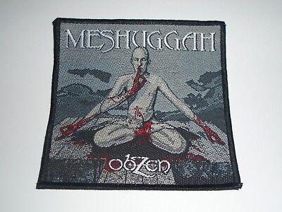 MESHUGGAH OBZEN WOVEN PATCH