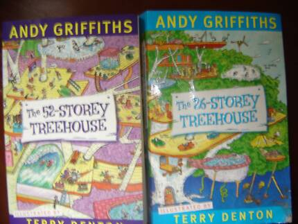 2 ANDY GRIFFITHS CHILDRENS BOOKS