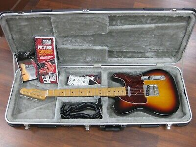 2011 Fender Telecaster Special Edition Sunburst *Hard Case*  MIM Mexican