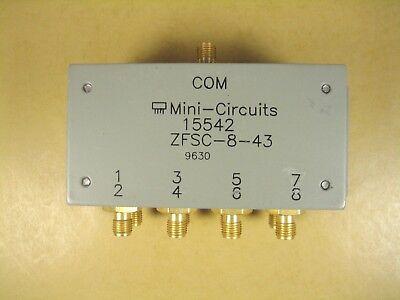 Mini-circuits Zfsc-8-43 8 Way Power Splittercombiner 10-1000 Mhz