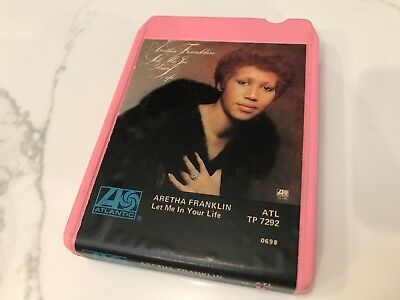 "ARETHA FRANKLIN ""Let Me In Your Life"" 1974 8-Track ATL TP 7292 CLEAN/USED"