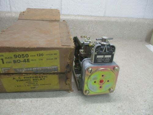 SQUARE-D AC PNEUMATIC TIMING RELAY #12121038HW NIB