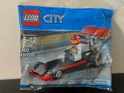 LEGO City Dragster Polybag 30358 - New in Bag