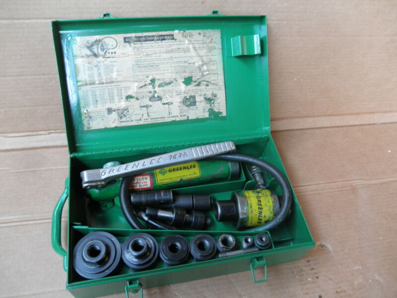 GREENLEE 7306 767 HYDRULIC KNOCKOUT SET PUNCH