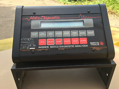 Matco Diagnostics Md65 Engine Systems Analyzer Tool With Various Probes Md-65