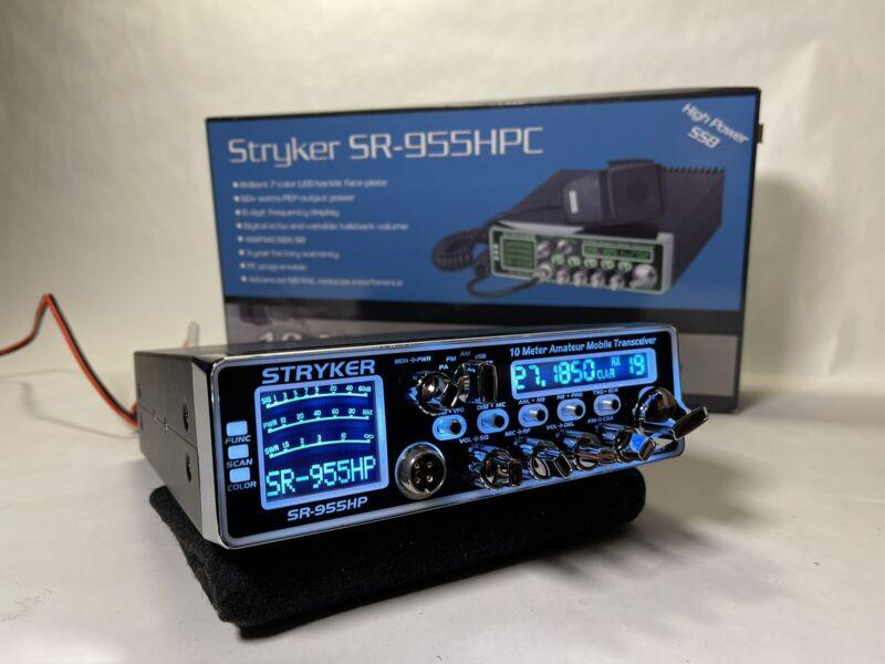 STRYKER SR-955HPC AM/FM/SSB 10 Meter Radio HIGH WATT PRO TUNED AND ALIGNED LOUD!
