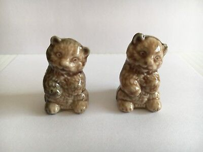 Used, Wade Red Rose Tea Figurines, Bear Cub, Canadian Exclusive for sale  Calgary