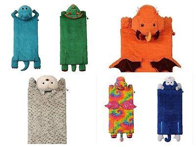 Dinosaur Slumber Bag (Kids Animal Adventure Slumber Sleeping Bag 56