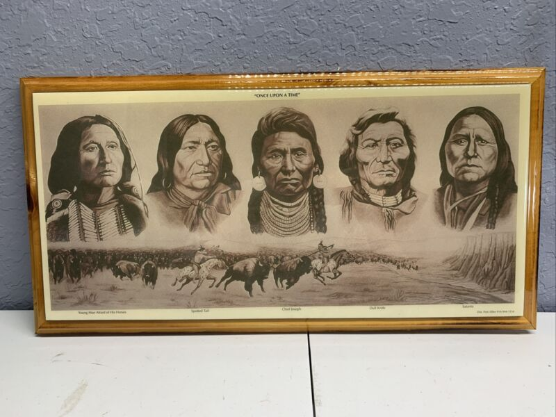 famous indian picture spotted tail, chief joseph, dull knife, satanta, Indians