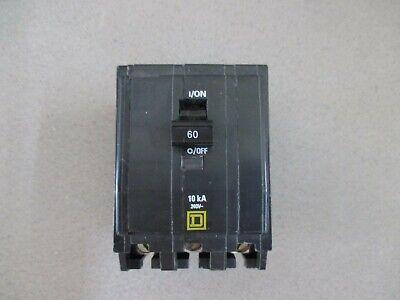 Square D Qo360 3 Pole 60 Amp White Amp Plug On Circuit Breaker