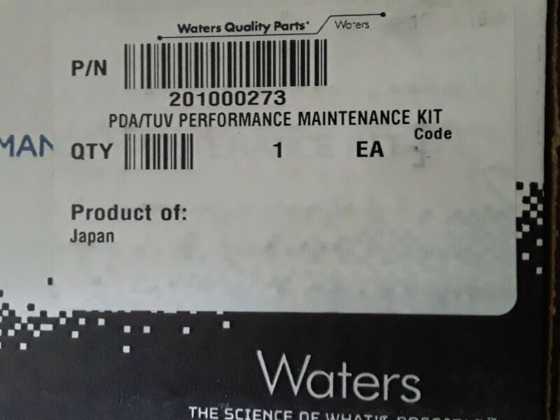 Waters ACQUITY 201000273 PDA/TUV 2489/2998  new, sealed. Offers reviewed.