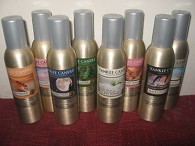 YANKEE CANDLE ROOM SPRAYS - 45 SCENTS- YOU CHOOSE - FREE  FAST SHIPPING