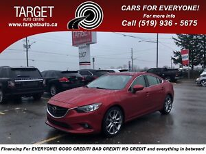2014 Mazda Mazda6 GT,Fully Loaded;two-tone Leather,Roof,Drives G