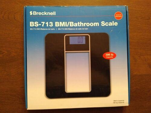 Brecknell BS-713 - Digital BMI/Bathroom Scale, 396 lb Capaci