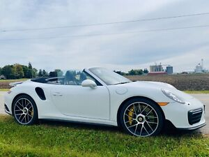 2017 911 Turbo S with ceramic brakes (MSRP is 295K)