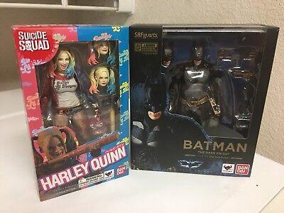 Batman Harley Quinn Bandi S H Figuarts Mib Figure Mafex Dc Collectibles
