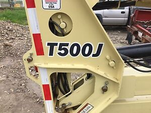 JLG T500J towable man lift