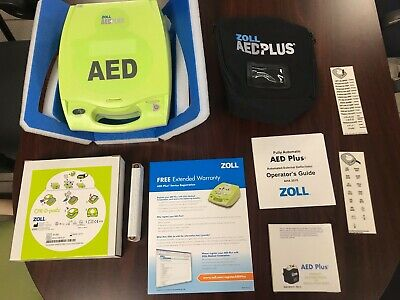 Brand New Zoll Aed Plus Defibrillator- Manufacturer Warranty