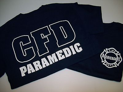 Chicago Fire Tshirts (Chicago Fire Department Paramedic)