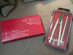 Vintage Charvoz 10-2832 Drawing Set/Germany