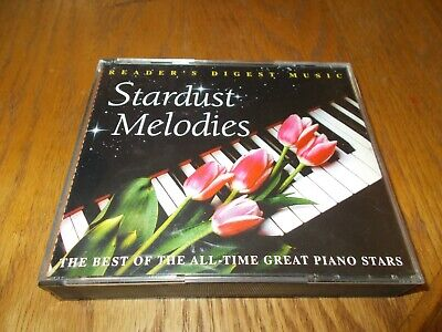 STARDUST MELODIES:  THE BEST OF THE ALL-TIME GREAT PIANO STARS 4-CD