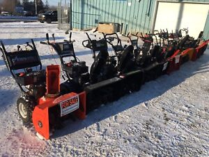 Snowblowers for sale souffleuse a vendre
