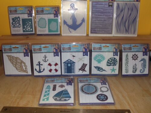 Nautical Collection by Crafters Companion Metal Dies and Embossing Folders u-pic