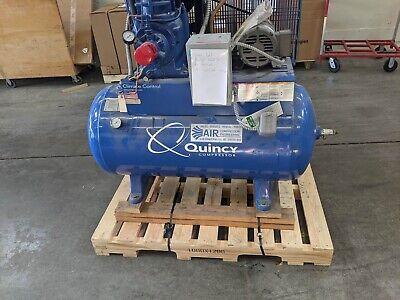 Quincy 325 Qrb With A 40 Gallon Volume Tank An Hankison Air Drier Series E